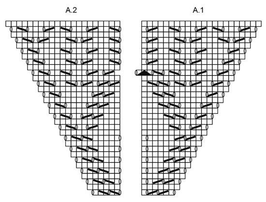 Шаль «Рог изобилия» от DROPS Design фото