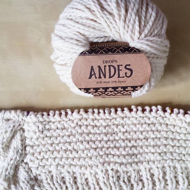 Вяжем из Drops Andes фото