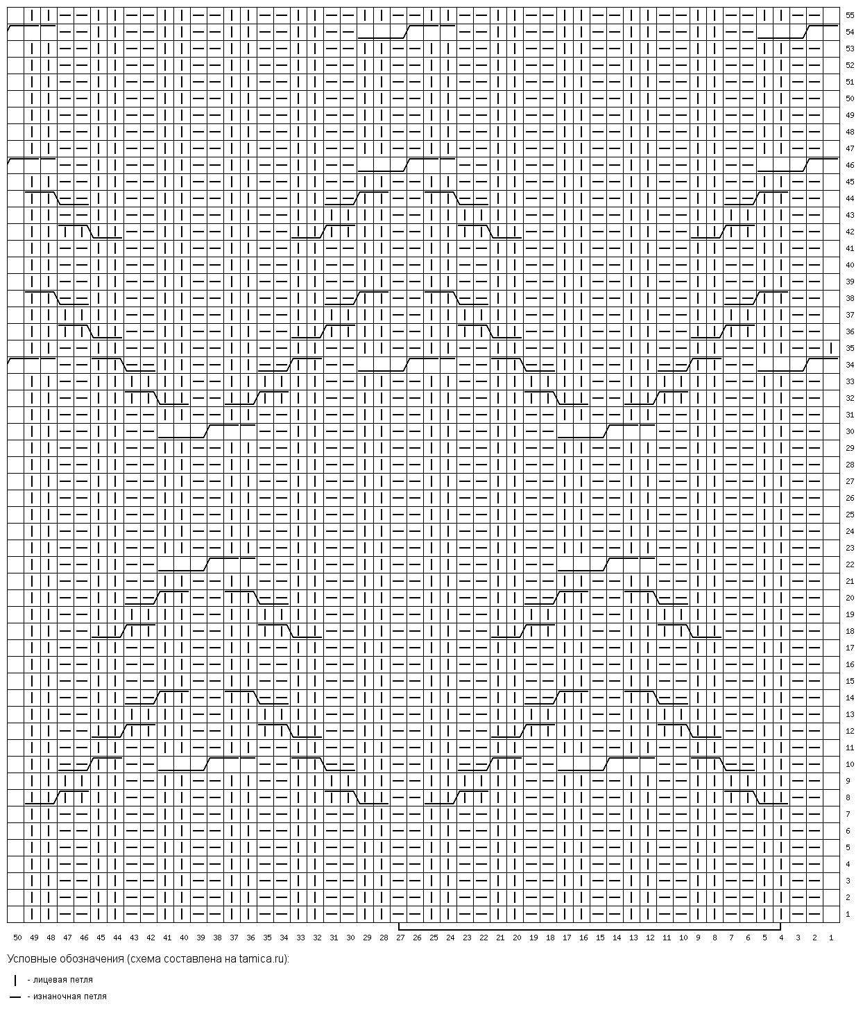 Шапка-бини с простыми аранами фото