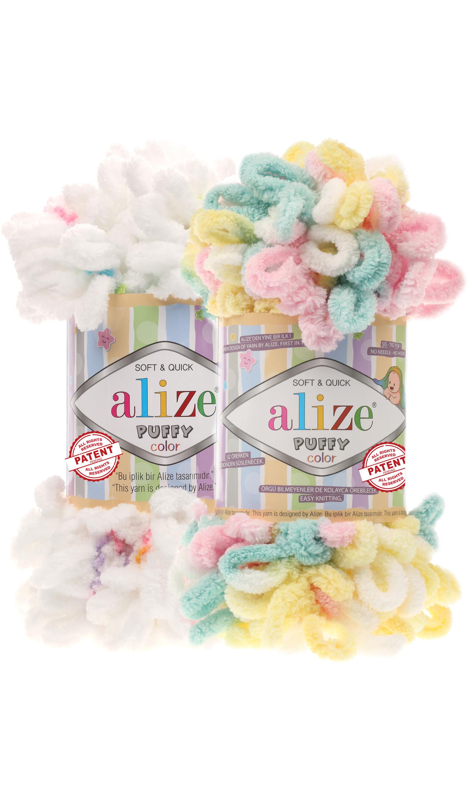 как вязать из пряжи Alize Puffy блог экспертов интернет магазина