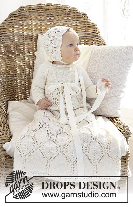 Комплект из крестильного платья и шапочки My Fairy фото
