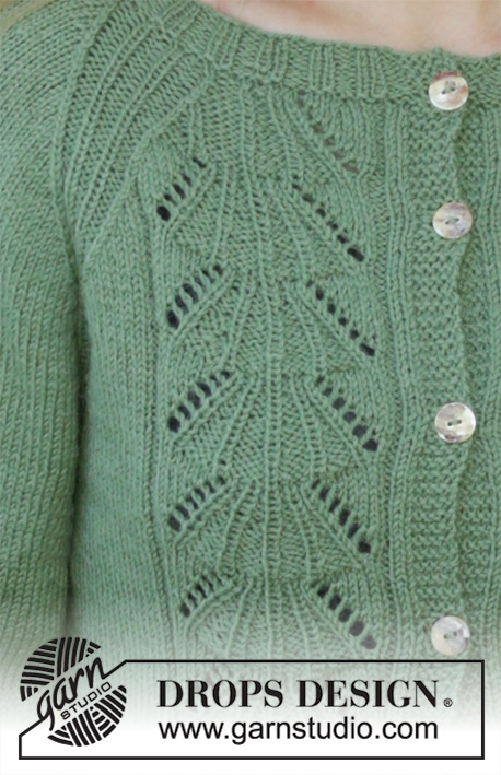 Кардиган и шапка Green Luck фото
