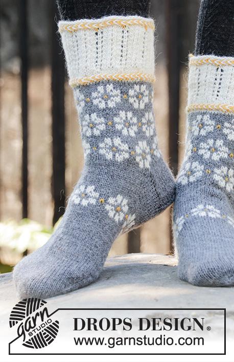 Рукавицы и носки Winter Daisies фото
