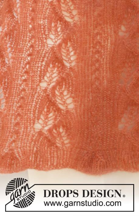 Палантин Autumn Willows от DROPS Design фото