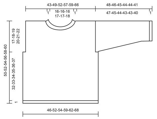 Джемпер Free Flow Sweater от DROPS Design фото