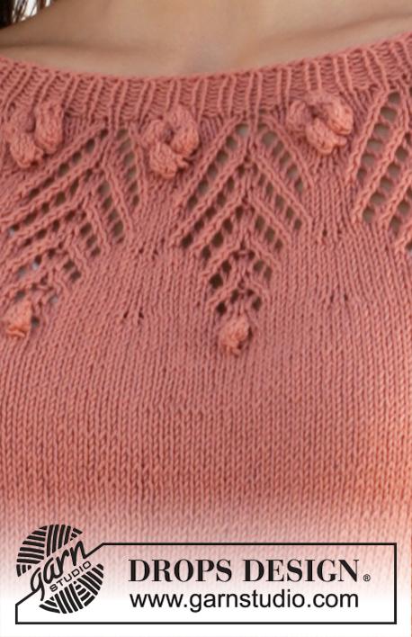 Джемпер Copper Rose от DROPS Design фото