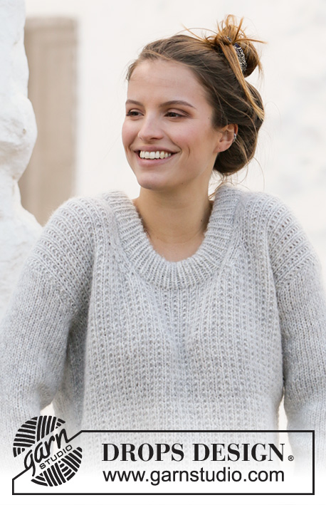 Джемпер Rainy Day Sweater от DROPS Design фото