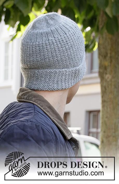 Мужская шапка Polar Protector от DROPS Design фото