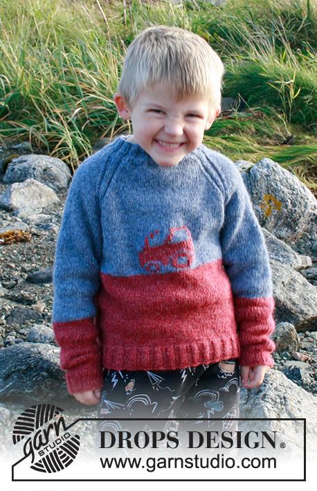 Детский джемпер Tiny Trucker фото