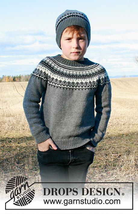 Детский комплект, джемпер и шапка, Dalvik фото