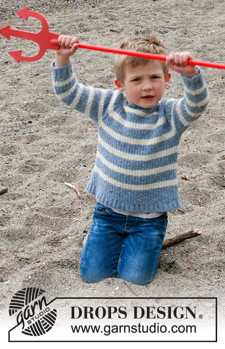 Детский джемпер Sky Stripes фото