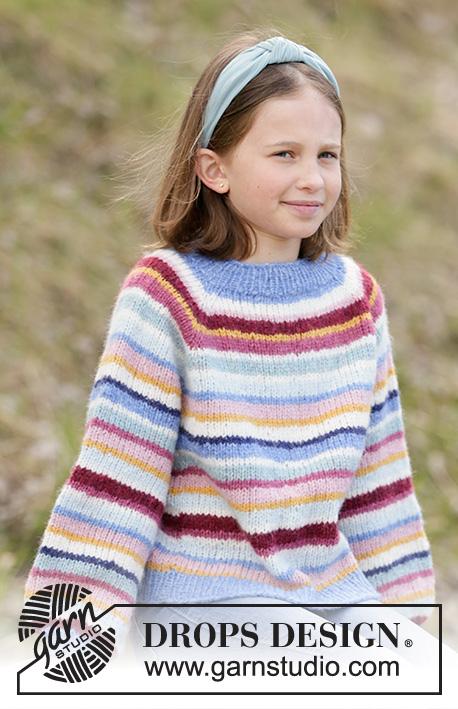 Детский джемпер Happy Stripes фото