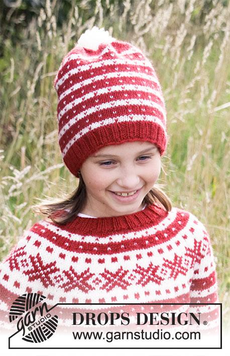 Детская шапка Candy Cane Lane фото