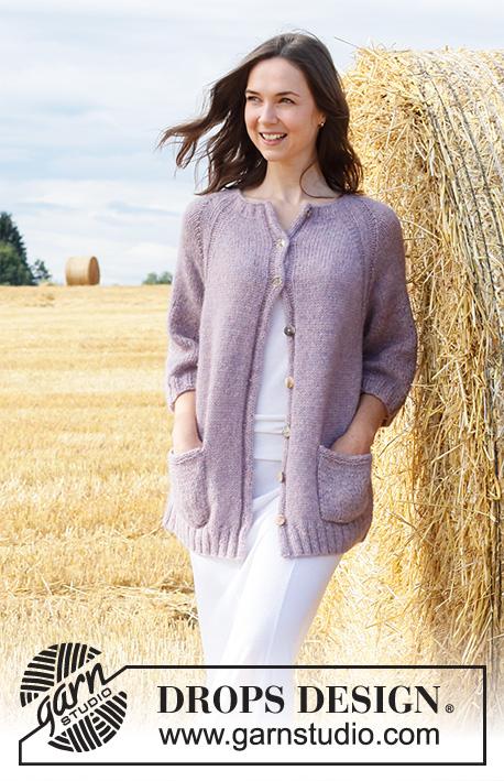 Кардиган Lavender Pocket фото
