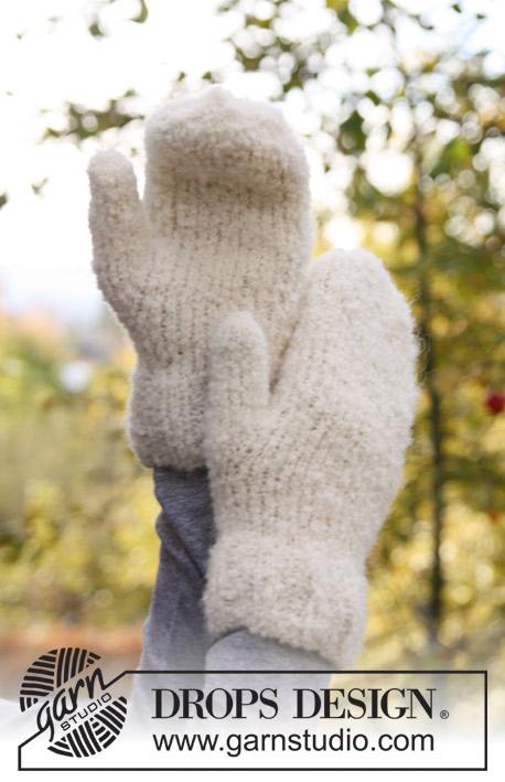 Вяжем из DROPS Alpaca Bouclé фото