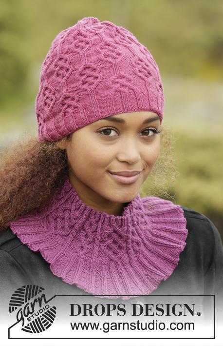 Комплект аксессуаров Vadelma (шапка, воротник, перчатки) фото